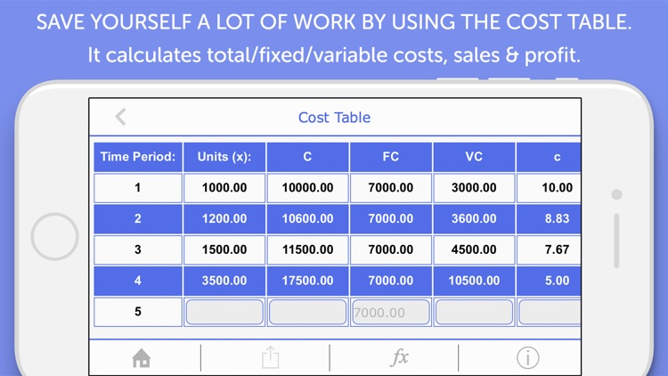 Cost Accounting Calculator screenshot-3