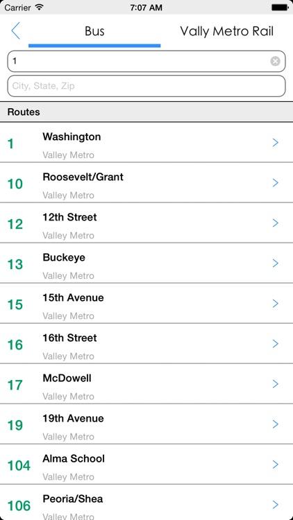 Transit Tracker - Phoenix screenshot-4