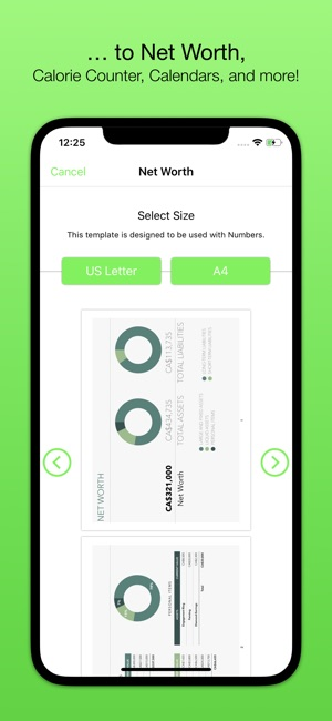 Templates For Numbers Nobody On The App Store