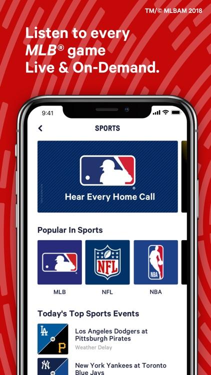 TuneIn: Radio, NFL & Podcasts screenshot-9