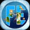 Flat Earth Sun, Moon & Zodiac - Blue Water Bay