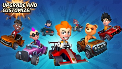 Boom Karts -Multiplayer Racing screenshot 3