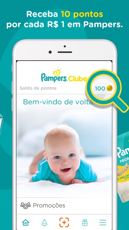 Pampers Clube: Recompensas screenshot-1
