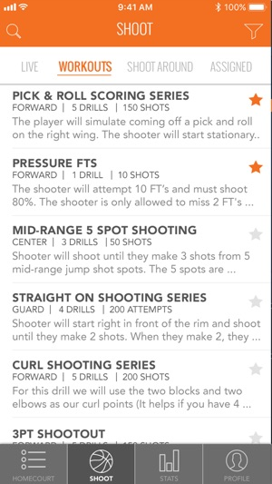 ShotTracker Player on the App Store
