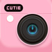 Cutie - 贴纸滤镜相机p图叽萌咔激