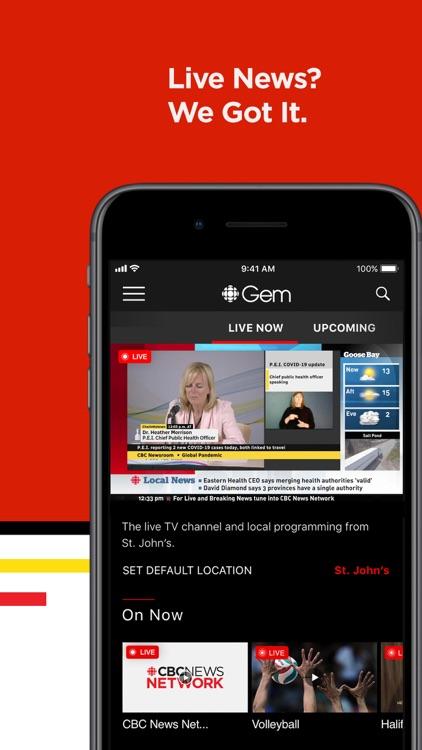 CBC Gem: Stream Movies & TV screenshot-3