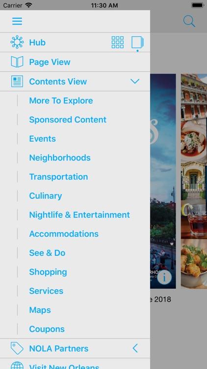New Orleans Visitors Guide screenshot-4