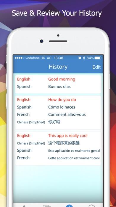Screenshot #9 for Multi Translate Voice