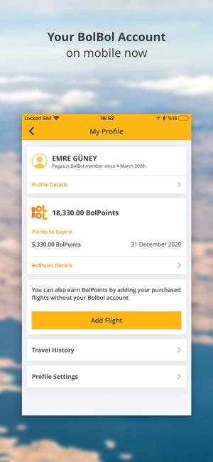 Cheap Flight Tickets | Pegasus Screenshot