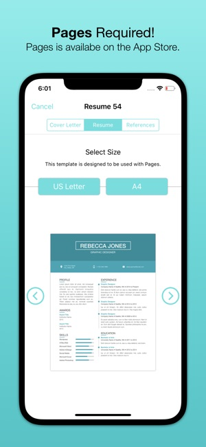 Resume Templates Bundle for Pages on the App Store