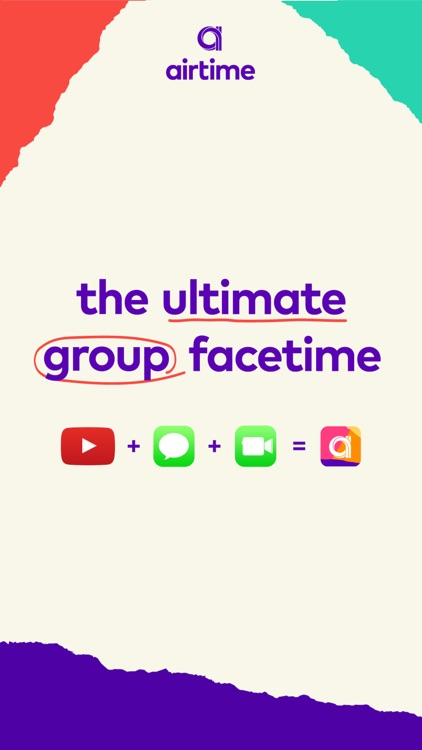 Airtime: Live Group Video Chat screenshot-0