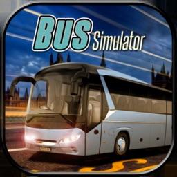 Euro City Coach Bus Driver 3d