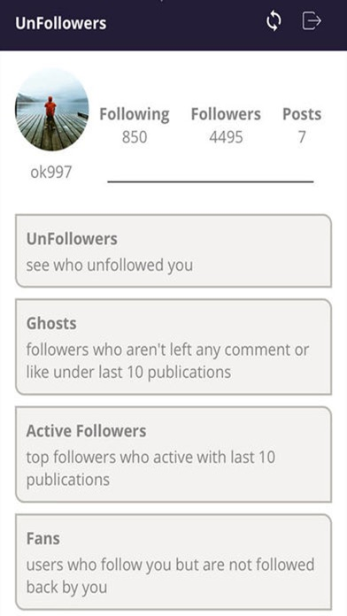 Unfollowers for Instagram (IG)