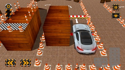 Classic Car Parking Frenzy 3D Screenshot