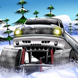 Snow Rally Truck Racing