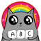 App Icon for Kitty Letter App in United States IOS App Store