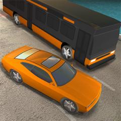 Racing Bus: Driving Big Car