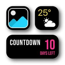 Widget | Countdown & photo