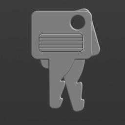 Grey keys