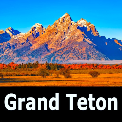 Grand Teton National Park Map!