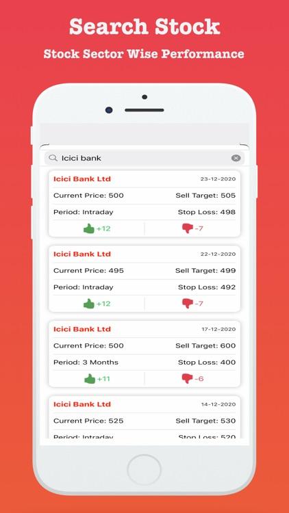 Stock Market India - Tips App