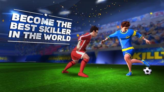 skilltwins football game 2 ios
