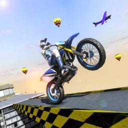 Mega Ramp Stunt Bike Game 2021