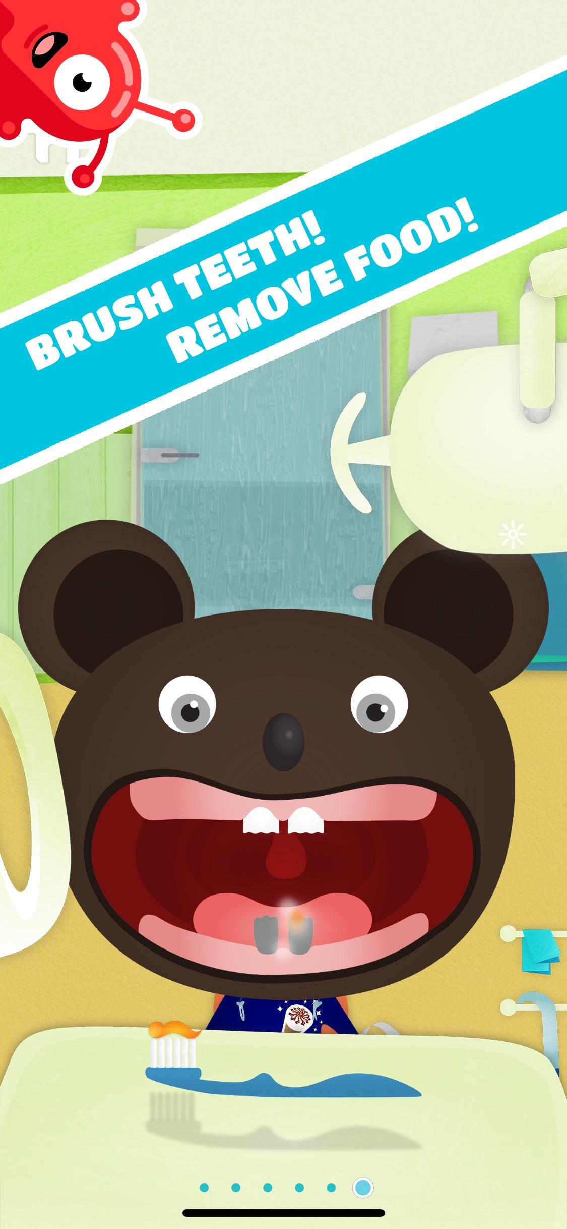 Screenshot do app Tiny Dentist