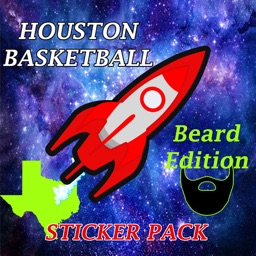 Houston Basketball Sticker App