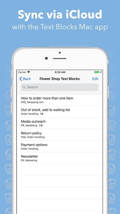 Text Blocks screenshot-3