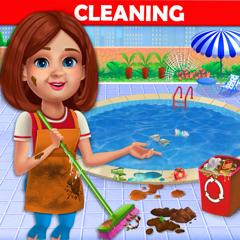 Big Home Aufräumen und Waschen