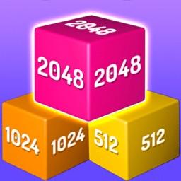 Merge Block 3D : Number Puzzle
