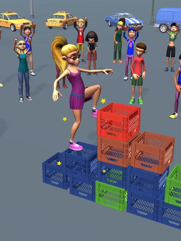 iPad Image of Milk Crate Challenge 3D