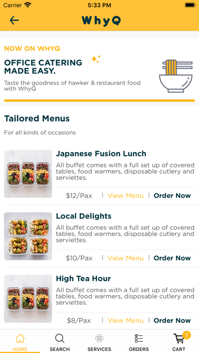 WhyQ Hawker DeliveryScreenshot of 8