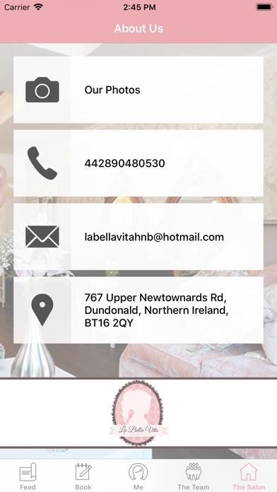 La Bella Vita Belfast Screenshot