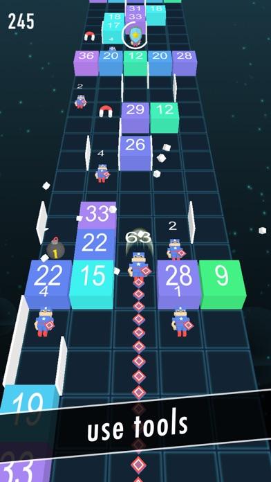 Balls Snake-Hit Up Number Cube screenshot three