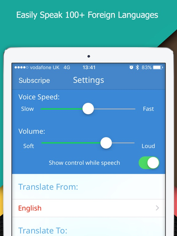 Screenshot #2 for Multi Translate Voice