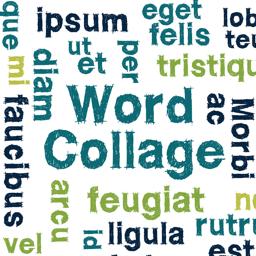 Ícone do app Word Collage