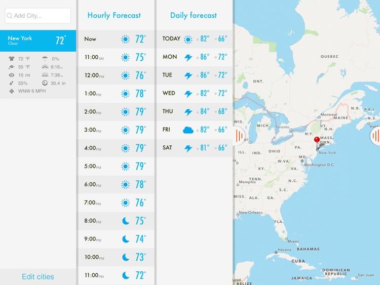 NOAA Radar & Hurricane inFocus screenshot-3