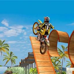 Bike stunt racing game 2021