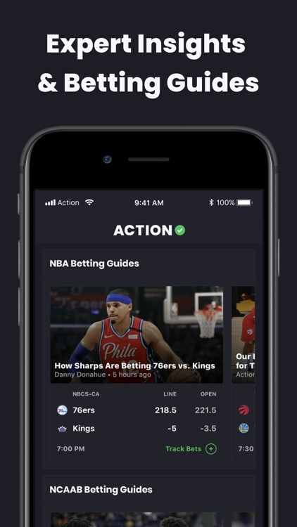 Action Network Sports Betting screenshot-3