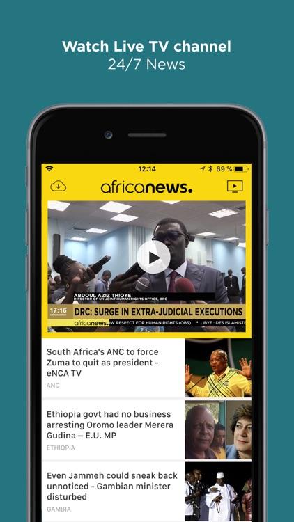 Africanews - News in Africa screenshot-4