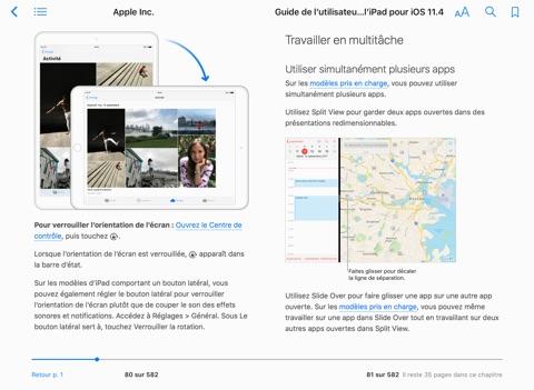guide de l utilisateur de l ipad pour ios 11 4 by apple inc on rh itunes apple com guide utilisateur ipad air 2 ios 10 guide de l'utilisateur ipad 2 en français