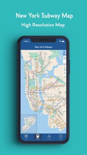 New York Offline Subway Map.New York Offline Map On The App Store