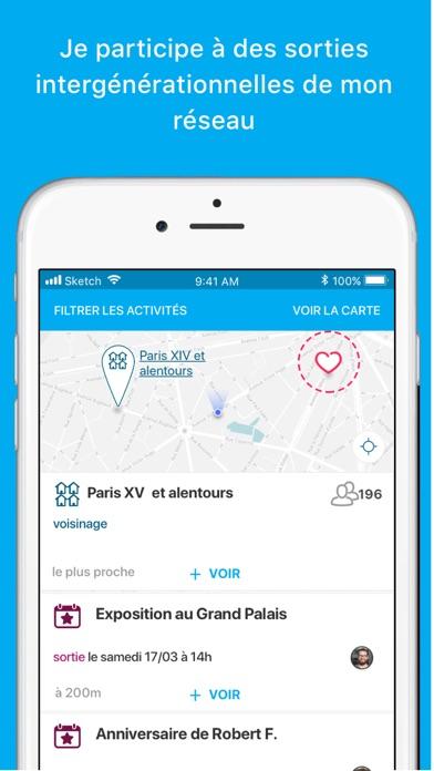 Voisin-Age Amitiés de quartier screenshot two