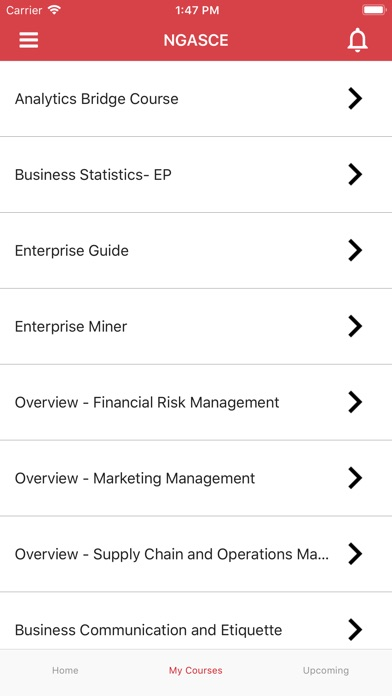 NMIMS- Distance Education App screenshot #2