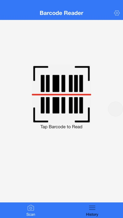 Barcode Reader for iPhone+ Screenshot on iOS