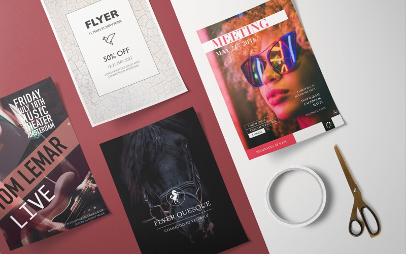Flyer DesiGN - Templates Screenshots