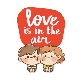 Crazy Cute Couple Stickers