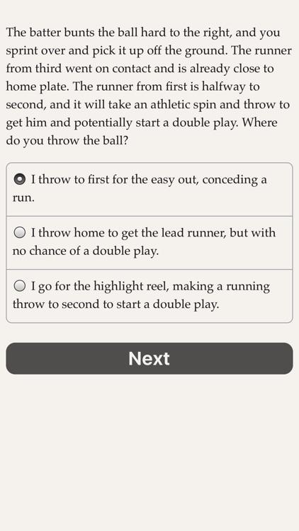 The Fielder's Choice screenshot-4